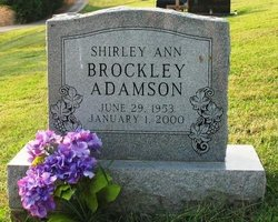 Shirley Ann <i>Brockley</i> Adamson