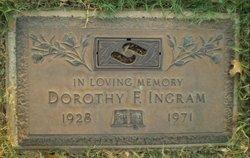 Dorothy Frances <i>Knowles</i> Ingram