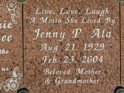 Jenny P Ala