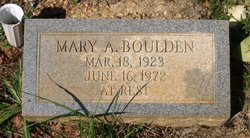 Mary A. Boulden