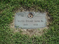 Milton Edward Irons, Sr