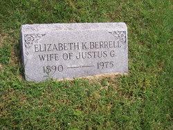 Elizabeth <i>Van Sickels</i> Berrell