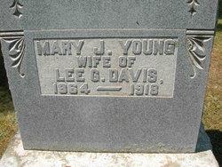 Mary J <i>Young</i> Davis