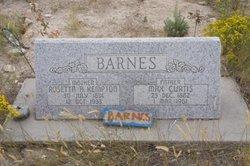 Max Curtis Barnes, Sr