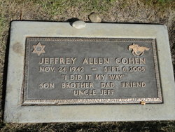 Jeffrey Allen Cohen