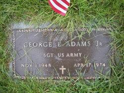 Sgt George E. Adams, Jr