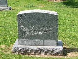 Walter D Robinson