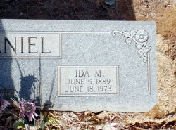 Ida Myrtle <i>Luckey</i> McDaniel