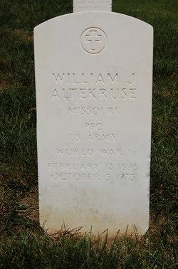 William J Altekruse