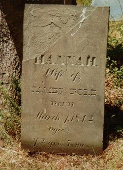 Hannah B <i>Davenport</i> Ford
