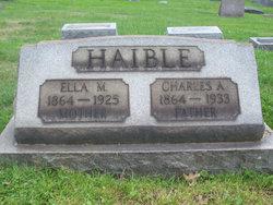 Ella May <i>Hake</i> Haible