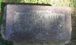 Dorothy Lousie <i>Howard</i> Allen