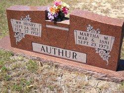 Martha Montgomery <i>Massey</i> Authur
