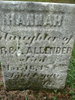Hannah Allender