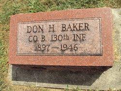 Don H Baker