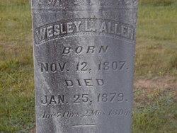 Maj Wesley L. Allen