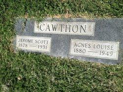 Agnes Louise <i>Beasley</i> Cawthon