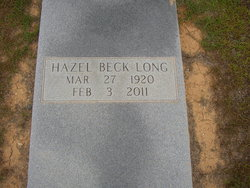 Hazel <i>Beck</i> Long