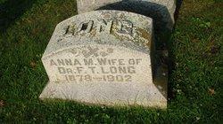 Anna May <i>O'Connell</i> Long