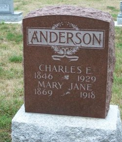 Mary Jane <i>McKinney</i> Anderson