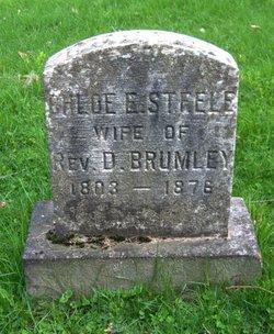 Chloe E <i>Steele</i> Brumley