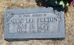 Audie Lee <i>Phillips</i> Fulton