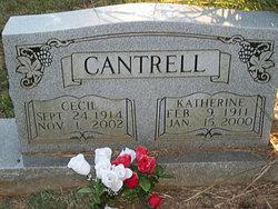 Katherine <i>Coakley</i> Cantrell