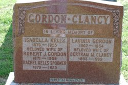 Lavina <i>Gordon</i> Clancy