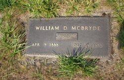 William Douglas McBryde