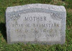 Rose M <i>Keidel</i> Baumstark