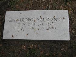 Adam Leopold Alexander