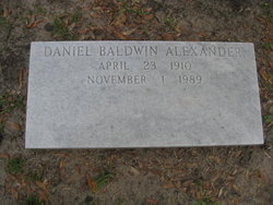 Daniel Baldwin Alexander