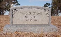 Oma <i>Jackson</i> Bost