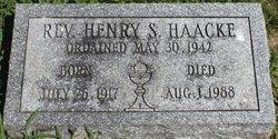 Rev Henry S. Haacke
