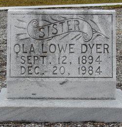 Ola Eveline <i>Lowe</i> Dyer