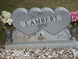 Roy A Lambert, Sr