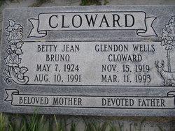 Betty Jean <i>Bruno</i> Cloward