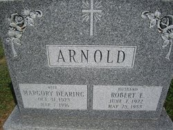 Margory M. <i>Dearing</i> Arnold,