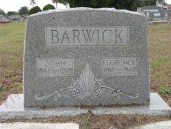Florence S <i>Carter</i> Barwick
