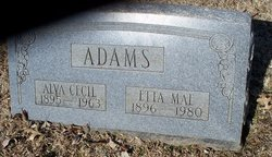 Etta Mae <i>Ronk</i> Adams