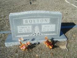 Samuel Benjamin Sam Bolton