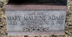 Mary Maurine Adams