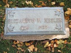 Elizabeth <i>Pettit</i> Kesler