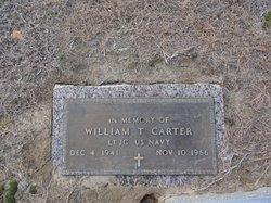 LTJG William Thomas Carter