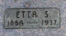 Etta S <i>Hardy</i> Bridgham