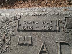Clara Mae <i>Brock</i> Adams