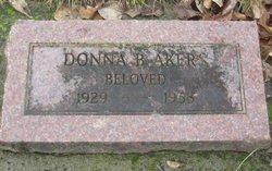 Donna Belle <i>Wilson</i> Akers