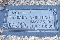 Barbara Arbuthnot