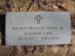 Thomas Pressley Tommy Bustle