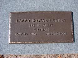 Larry Edward Barrs